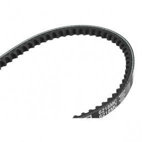 Achat de 853216218 GATES Largeur: 10mm, Longueur: 950mm Courroie trapézoïdale 6218MC pas chères