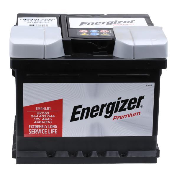 Car spare parts VW FRIDOLIN 1970: Starter Battery ENERGIZER EM44-LB1 at a discount — buy now!