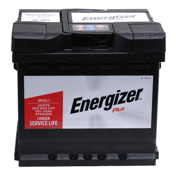Achetez Système électrique ENERGIZER EP52-L1 (Courant d'essai à froid, EN: 470A, Volt: 12V, Disposition pôles: 0) à un rapport qualité-prix exceptionnel