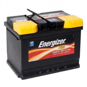 078 ENERGIZER Plus Batterie-Kapazität: 60Ah Kälteprüfstrom EN: 540A, Spannung: 12V, Polanordnung: 1 Starterbatterie EP60-L2X günstig kaufen