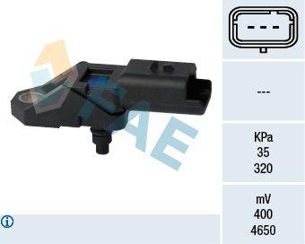 OE Original Sensor, Saugrohrdruck 15108 FAE
