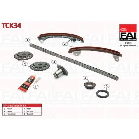 Buy Timing chain kit TOYOTA COROLLA cheaply online