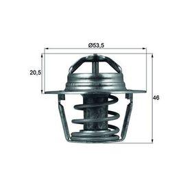 70808896 MAHLE ORIGINAL Öffnungstemperatur: 89°C, mit Dichtung Thermostat, Kühlmittel TX 91 89D günstig kaufen