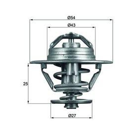 70808900 MAHLE ORIGINAL Öffnungstemperatur: 83°C, mit Dichtung Thermostat, Kühlmittel TX 93 83D günstig kaufen