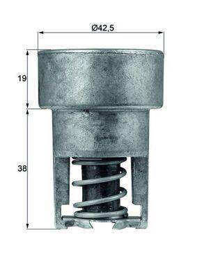 Achetez Système de refroidissement du moteur MAHLE ORIGINAL TX 98 82 () à un rapport qualité-prix exceptionnel