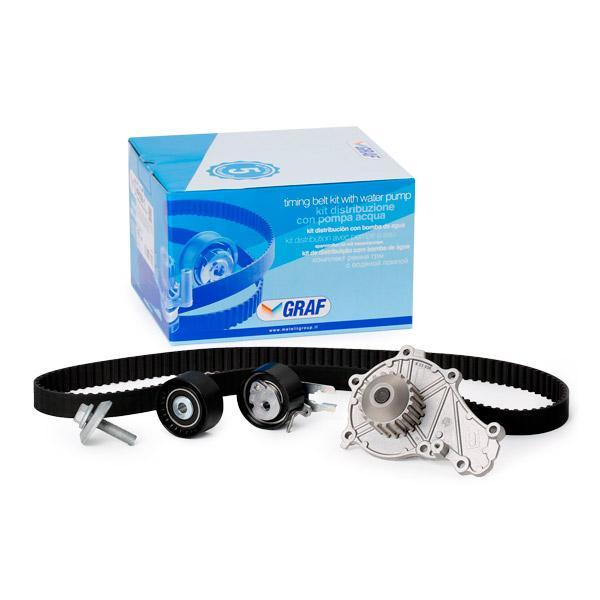 Comprare PA938 GRAF N° denti: 137 Pompa acqua + Kit cinghie dentate KP938-1 poco costoso