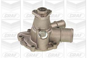 PA494 GRAF für Keilrippenriementrieb, mit Dichtung Wasserpumpe PA494 günstig kaufen