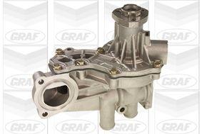 PA579 GRAF für Keilrippenriementrieb, mit Deckel, mit Dichtring für Wasserpumpe Wasserpumpe PA579 günstig kaufen