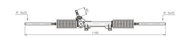 Lenkgetriebe CI4031 rund um die Uhr online kaufen