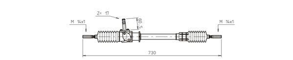 Αγοράστε Κρεμαγιέρα μηχανική FI4006 οποιαδήποτε στιγμή