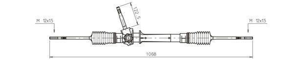 Original OPEL Zahnstangenlenkung OP4035