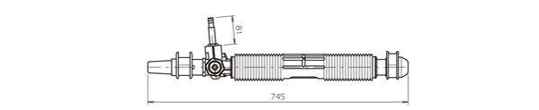 OP4036 GENERAL RICAMBI manuell Lenkgetriebe OP4036 günstig kaufen