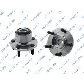GHA336010 GSP Vorderachse, mit integriertem ABS-Sensor Ø: 131mm Radlagersatz 9336010 günstig kaufen