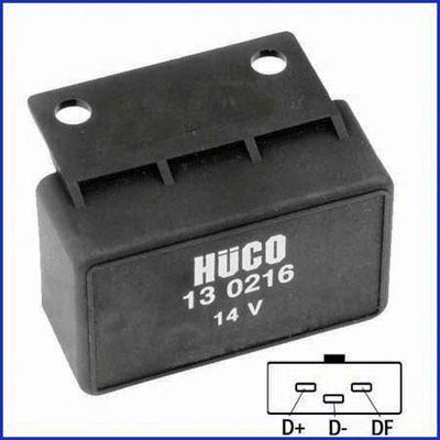 130216 HITACHI Spannung: 14,0V Nennspannung: 14V Generatorregler 130216 günstig kaufen