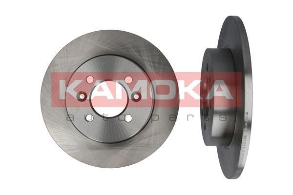 1031107 KAMOKA Voll, mit Schrauben Ø: 265mm, Ø: 265mm, Bremsscheibendicke: 10,6mm Bremsscheibe 1031107 günstig kaufen