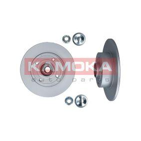 1031135 KAMOKA Voll, mit Radlager, mit ABS-Sensorring Ø: 240mm, Lochanzahl: 4, Bremsscheibendicke: 8mm Bremsscheibe 1031135 günstig kaufen