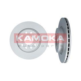 1032446 KAMOKA Ventilación interna, altamente carbonizado, con tornillos Ø: 280mm, Espesor disco freno: 22mm Disco de freno 1032446 a buen precio