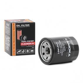 F101401 KAMOKA Filtro aparafusado, com uma válvula de retenção Ø: 68,5mm, Altura: 85mm Filtro de óleo F101401 comprar económica