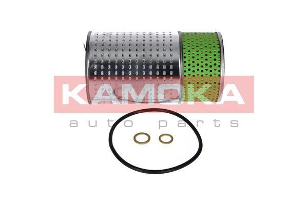 F101801 KAMOKA Filtereinsatz Innendurchmesser 2: 12mm, Innendurchmesser 2: 25mm, Außendurchmesser 2: 88mm, Höhe: 167mm Ölfilter F101801 günstig kaufen