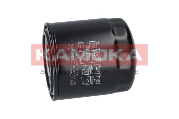 F102001 Ölfilter KAMOKA Test