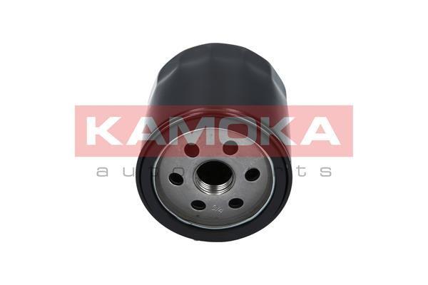 F102301 KAMOKA Anschraubfilter, mit einem Rücklaufsperrventil Ø: 75mm, Höhe: 81mm Ölfilter F102301 günstig kaufen