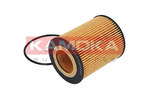 F107201 Ölfilter KAMOKA Test