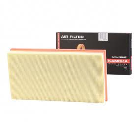 Pirkti F230501 KAMOKA ilgis: 348mm, plotis: 185mm, aukštis: 49mm Oro filtras F230501 nebrangu
