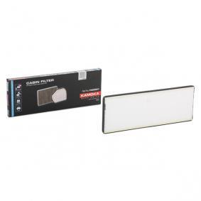 Filtr, wentylacja przestrzeni pasażerskiej KAMOKA F400501 kupić i wymienić