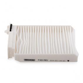 F401901 Filter, Innenraumluft KAMOKA - Markenprodukte billig