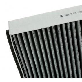 F505001 Филтър, въздух за вътрешно пространство KAMOKA - опит