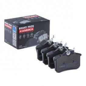 20961 KAMOKA für Verschleißwarnanzeiger vorbereitet, exkl. Verschleißwarnkontakt, mit Bremssattelschrauben Höhe: 52,9mm, Breite: 87,6mm, Dicke/Stärke: 17,5mm Bremsbelagsatz, Scheibenbremse JQ1012166 günstig kaufen
