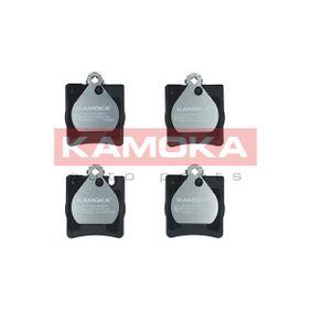 JQ1012644 KAMOKA Hinterachse, für Verschleißwarnanzeiger vorbereitet, exkl. Verschleißwarnkontakt, mit Zubehör Höhe: 78mm, Breite: 64mm, Dicke/Stärke: 15,3mm Bremsbelagsatz, Scheibenbremse JQ1012644 günstig kaufen