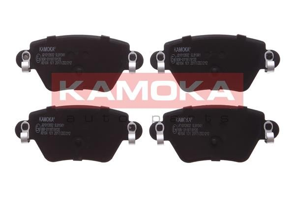 KAMOKA Bremsbelagsatz, Scheibenbremse JQ1012832