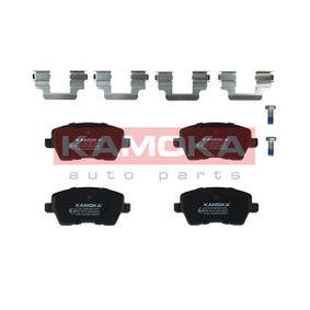23973 KAMOKA nicht für Verschleißwarnanzeiger vorbereitet, exkl. Verschleißwarnkontakt, mit Bremssattelschrauben Höhe: 52mm, Breite: 116mm, Dicke/Stärke: 17,4mm Bremsbelagsatz, Scheibenbremse JQ1013398 günstig kaufen