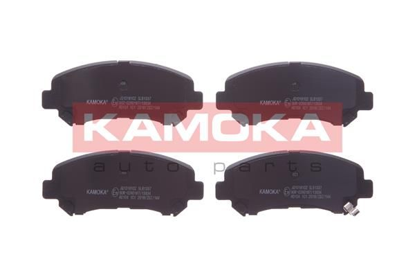 Bremsbelagsatz Scheibenbremse KAMOKA JQ1018102