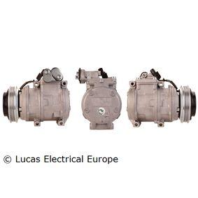 ACP190 LUCAS ELECTRICAL PAG 46 Riemenscheiben-Ø: 119mm Kompressor, Klimaanlage ACP190 günstig kaufen