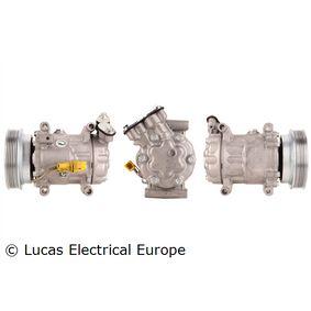 ACP325 LUCAS ELECTRICAL PAG 46 Riemenscheiben-Ø: 123mm Kompressor, Klimaanlage ACP325 günstig kaufen