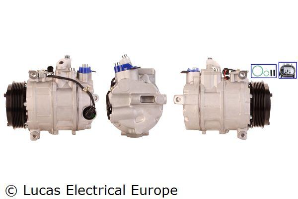 ACP355 LUCAS ELECTRICAL PAG 46, mit Dichtungen Riemenscheiben-Ø: 110mm Klimakompressor ACP355 günstig kaufen