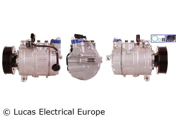 LUCAS ELECTRICAL: Original Kompressor Klimaanlage ACP498 (Riemenscheiben-Ø: 110mm)