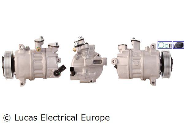 ACP634 LUCAS ELECTRICAL PAG 46, Kältemittel: R 134a, mit Dichtungen Riemenscheiben-Ø: 110mm Klimakompressor ACP634 günstig kaufen
