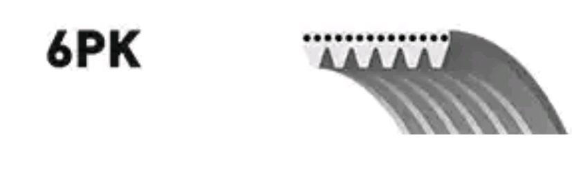6PK1053 Rippenriemen GATES 6PK1055 - Große Auswahl - stark reduziert