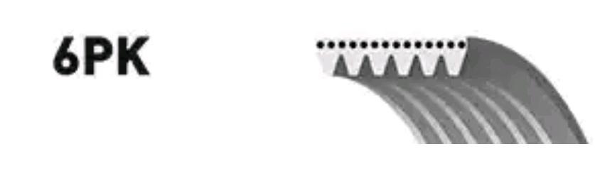 6PK1078 Flerspårsremssats GATES - Billiga märkesvaror