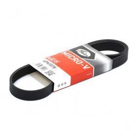 865310192 GATES Micro-V® Ribbantal: 6, L: 1078mm Flerspårsrem 6PK1078 köp lågt pris