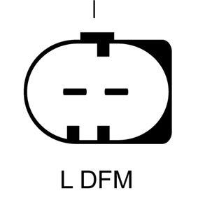 LRA02890 LUCAS ELECTRICAL 14V, 120A Rippenanzahl: 6 Generator LRA02890 günstig kaufen