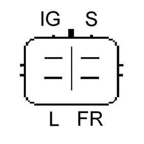 LRA02906 LUCAS ELECTRICAL 90A Rippenanzahl: 6 Generator LRA02906 günstig kaufen