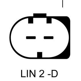 LRA03276 LUCAS ELECTRICAL 14V, 90A Rippenanzahl: 6 Generator LRA03276 günstig kaufen