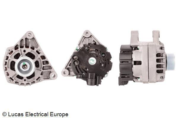 LUCAS ELECTRICAL: Original Drehstromgenerator LRB00502 (Rippenanzahl: 6)