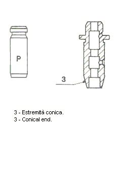 Original Ventilstyrning / -packning / inställning 01-2056 Honda