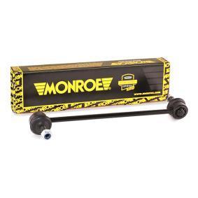 L29617 MONROE L: 270mm Länk, krängningshämmare L29617 köp lågt pris