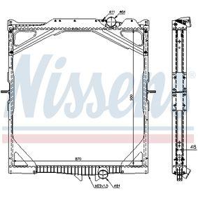 Kühler, Motorkühlung NISSENS 65462A mit 21% Rabatt kaufen